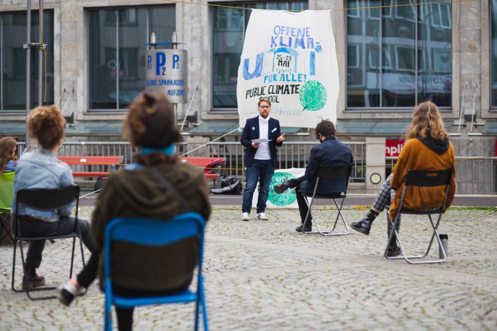 Bild einer Veranstaltung im Rahmen der Public Climate School 2.0 in Bochum
