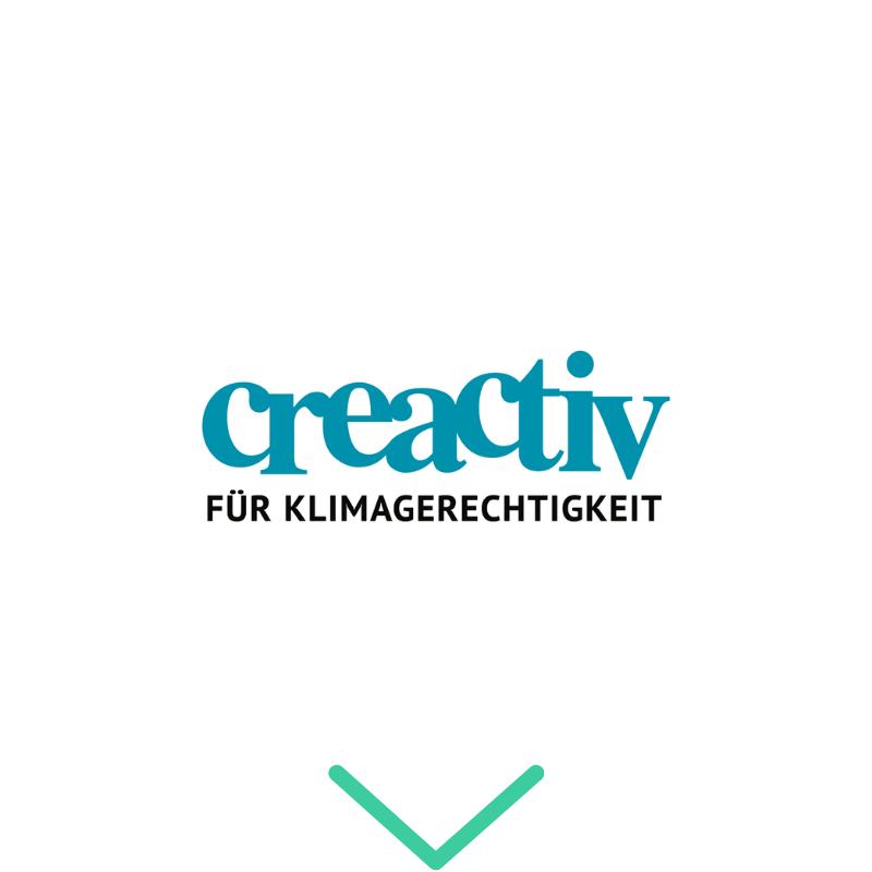 Logo Creaktiv für Klimagerechtigkeit