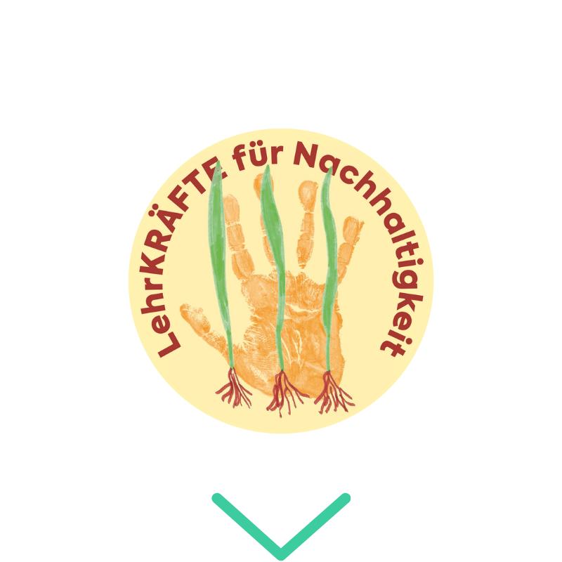 Logo LehrKRÄFTE für Nachhaltigkeit